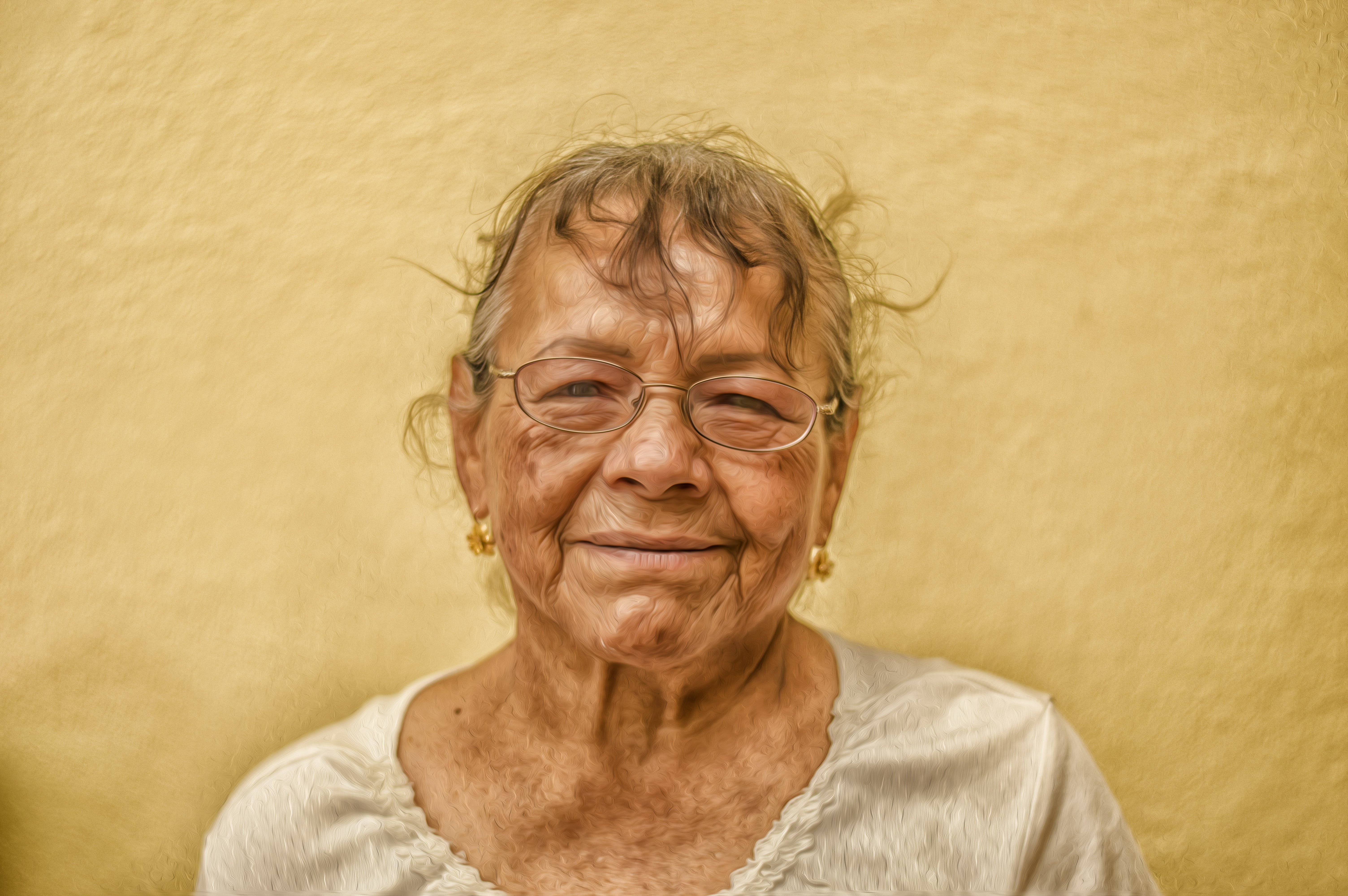 Free stock photo of face, old, woman