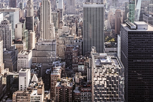 Free stock photo of city, skyline, buildings, skyscrapers