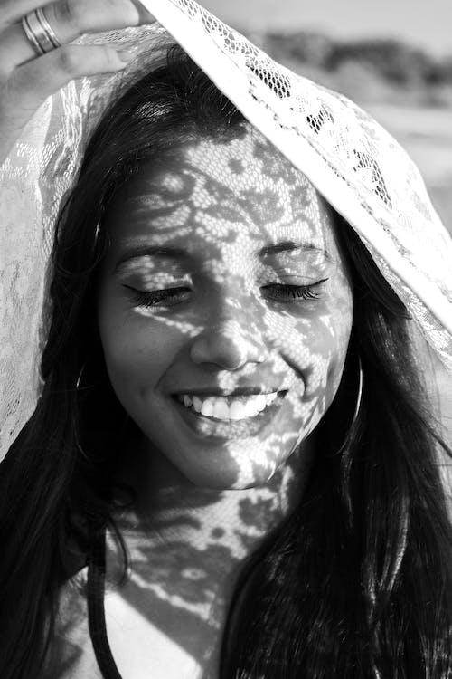 Foto stok gratis bagus, hitam & putih, kaum wanita, keindahan