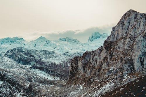 Foto d'estoc gratuïta de alt, cim, cobert de neu