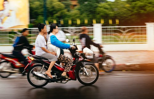 Free stock photo of bike, commute, commuter, thailand