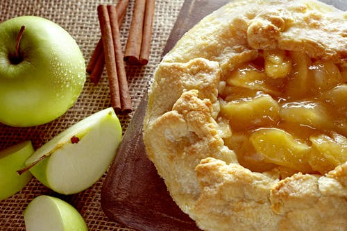 Fotos de stock gratuitas de Desierto, galette, manzanas, pastel de ojaldre de manzana