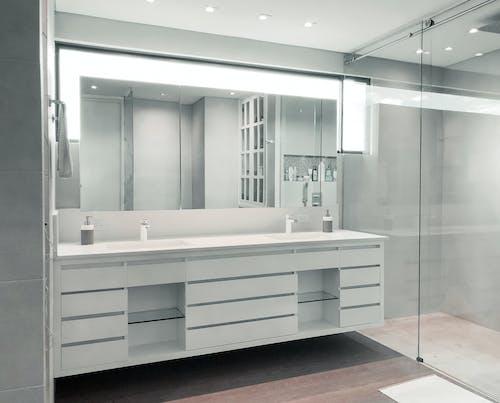 Empty Bathroom Interior