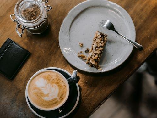Gratis lagerfoto af brunch, café, cappuccino, delikat