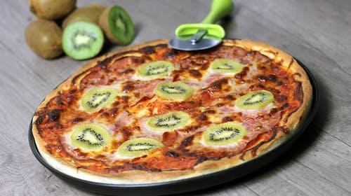 Imagine de stoc gratuită din face pizza, gastronomie, gatrophoto, kiwi