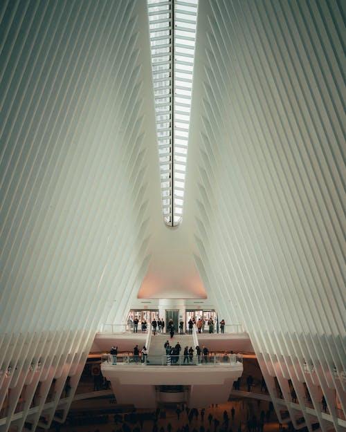 Kostenloses Stock Foto zu architekturdesign, beleuchtung, decke, design