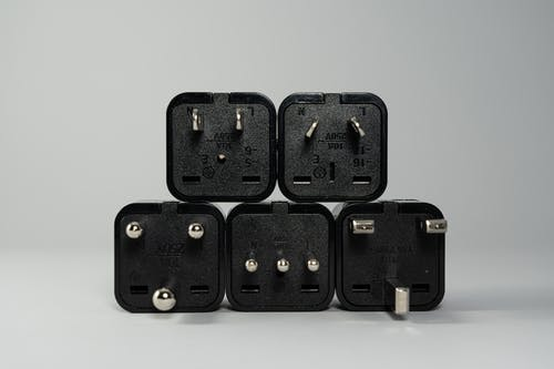 Black Wall Plugs