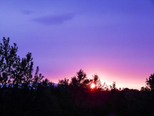Gratis arkivbilde med fargerik, himmel, slovakia, solnedgang