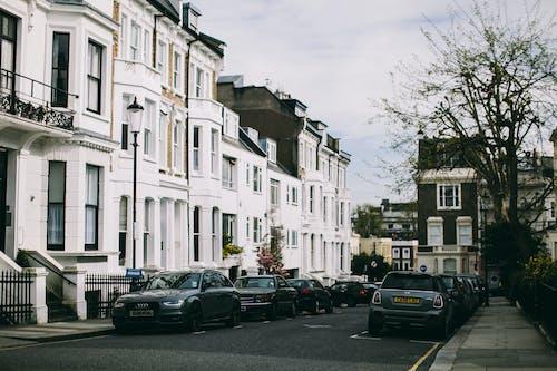 Ingyenes stockfotó ablakok, autók, építészet, épület témában