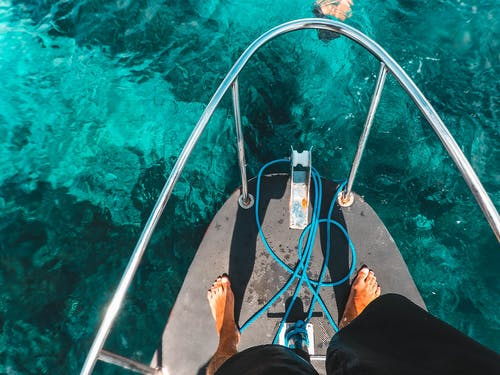 Free stock photo of bali, blue water, boat, clear water
