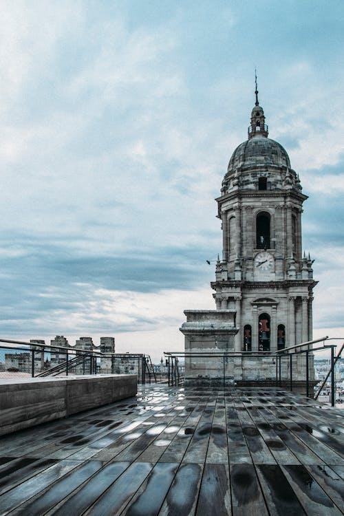 arkkitehtuuri, harmaa, historiallinen