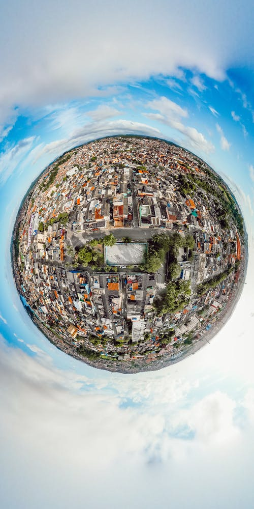 Tiny Planet of a City
