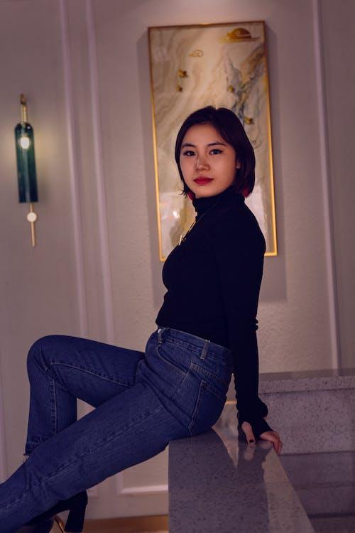 Foto profissional grátis de #chinese #portrait, #fasgion #person #woman, #models, #photo #fotografia