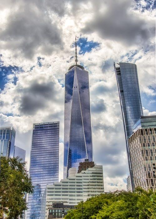 Ilmainen kuvapankkikuva tunnisteilla keskusta, manhattan, new york, skyscapers