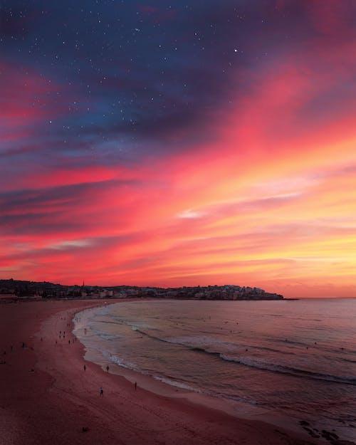 Free stock photo of beach, Bondi Beach, constellation, ocean