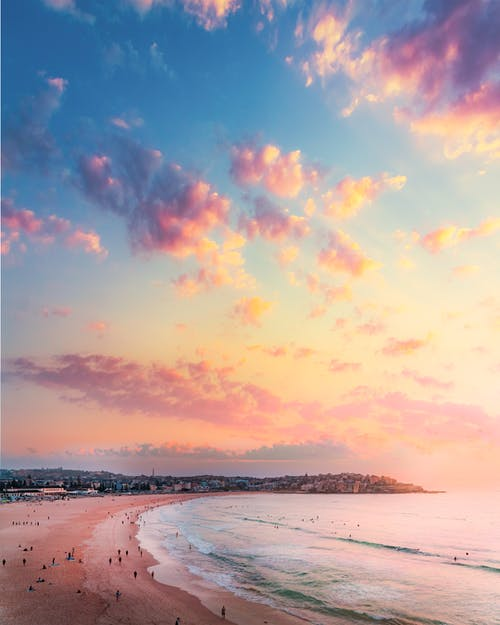 Gratis arkivbilde med bondi beach, daggry, hav, havkyst