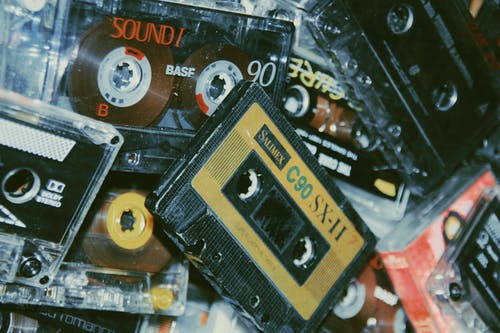 Fotos de stock gratuitas de analógico, audio, casete, cinta