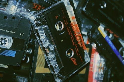 Schwarzes Und Rotes Kassettenband