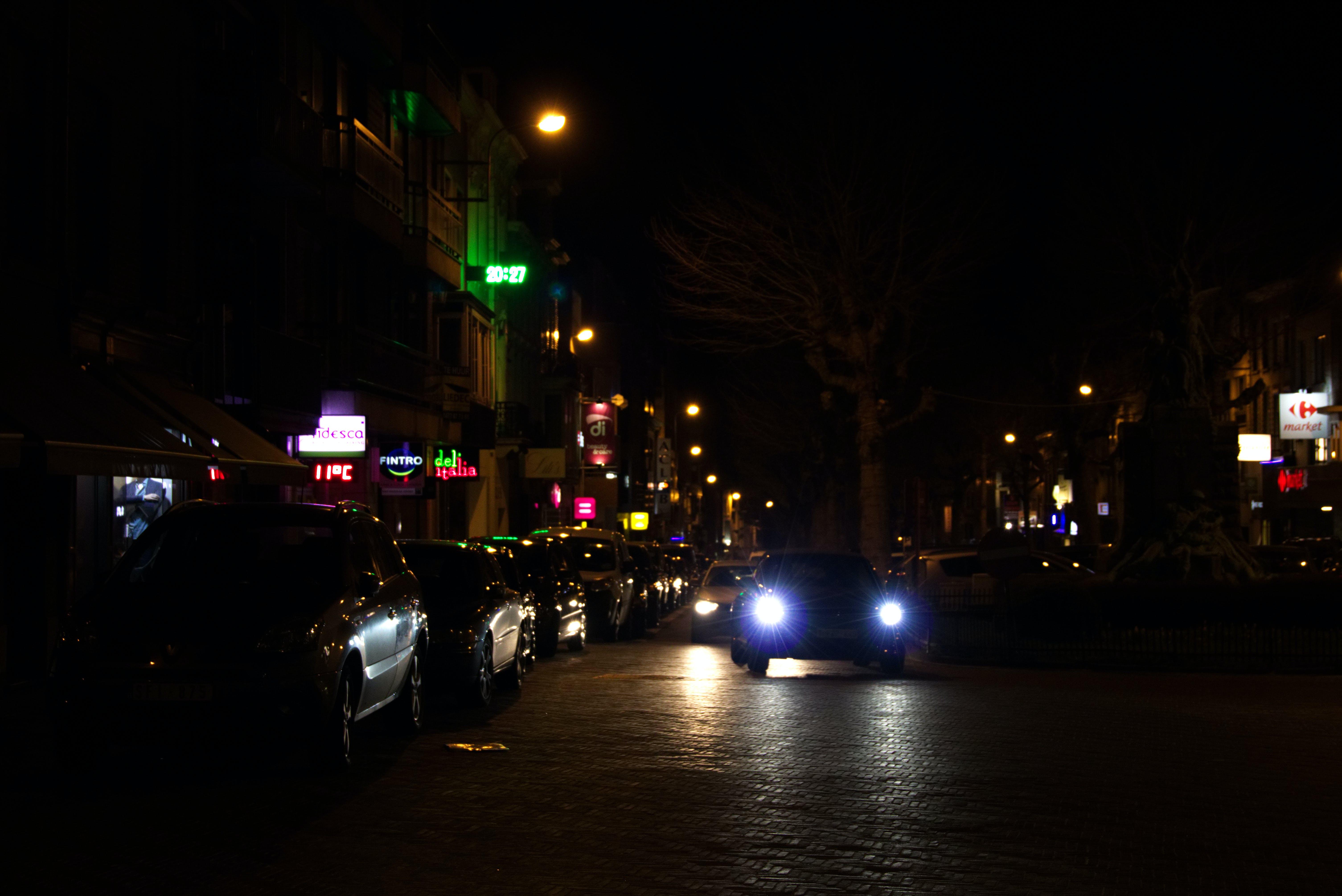 low light, night lights, street