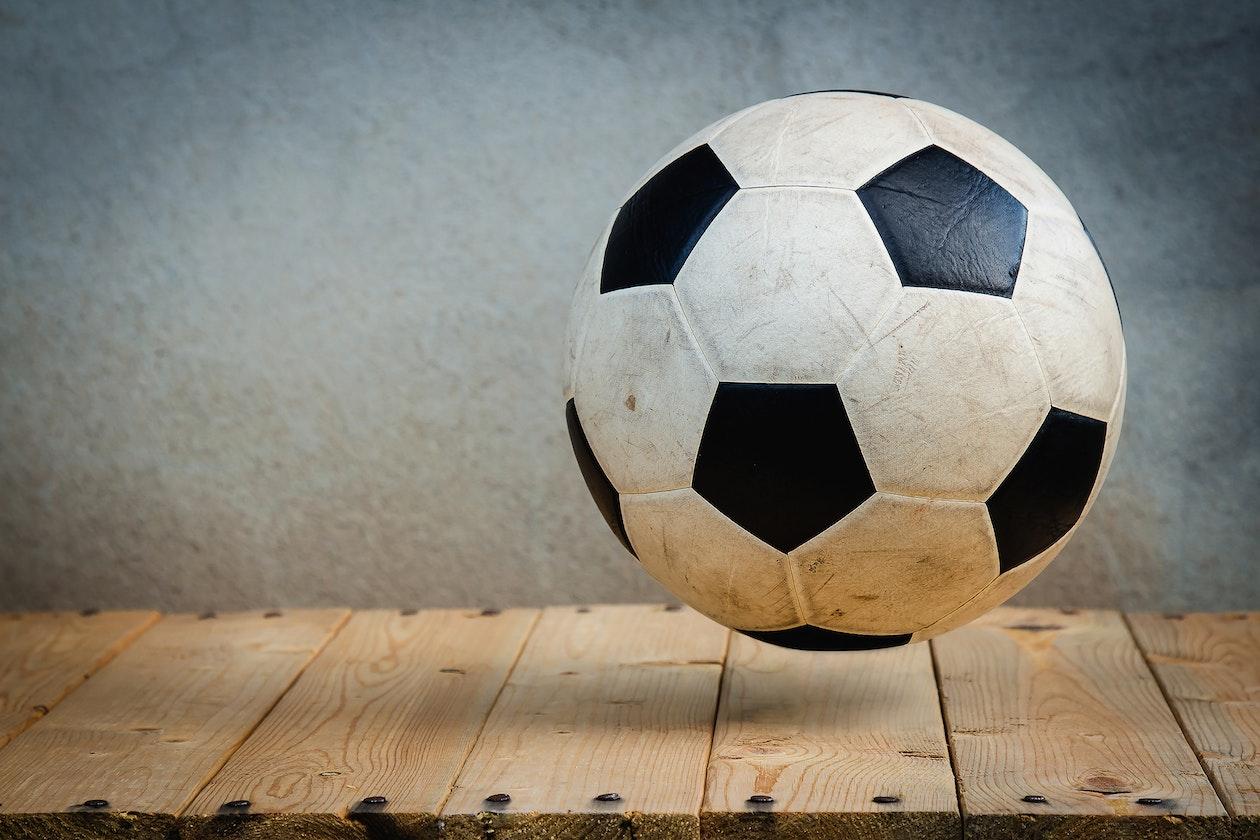 football bet soccer ball