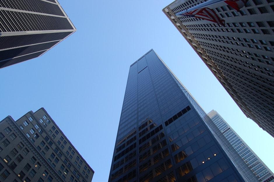 architectural design, architecture, blue sky