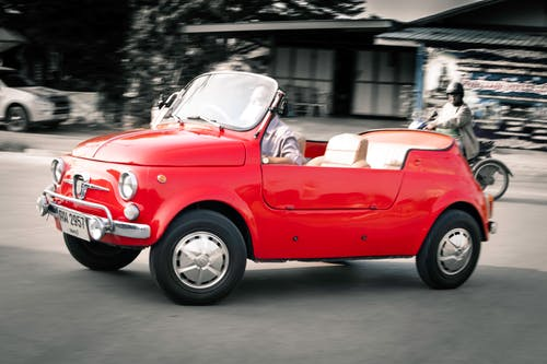 Free stock photo of 500, abarth, cabriolet