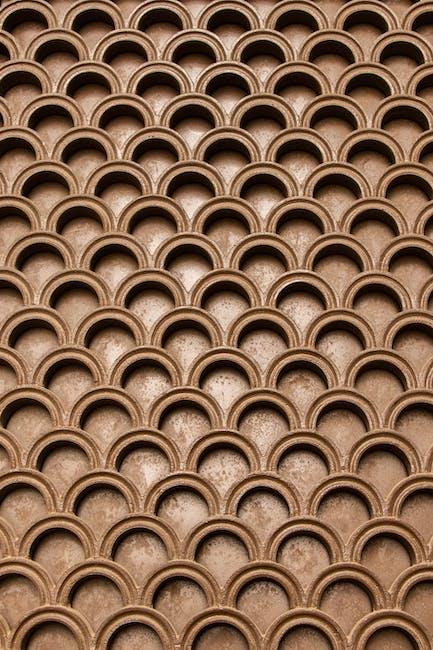 Brown geometrical pattern