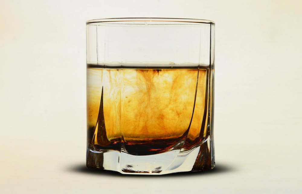 Scotch Glass @pexels