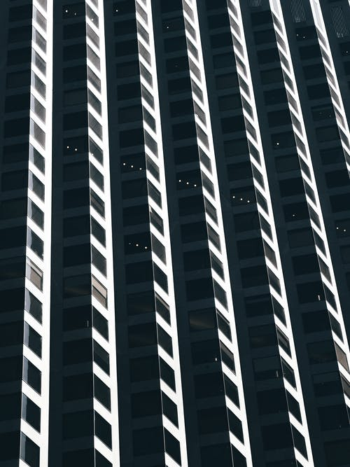 Free stock photo of abstract background, apartment buildings, architectural building
