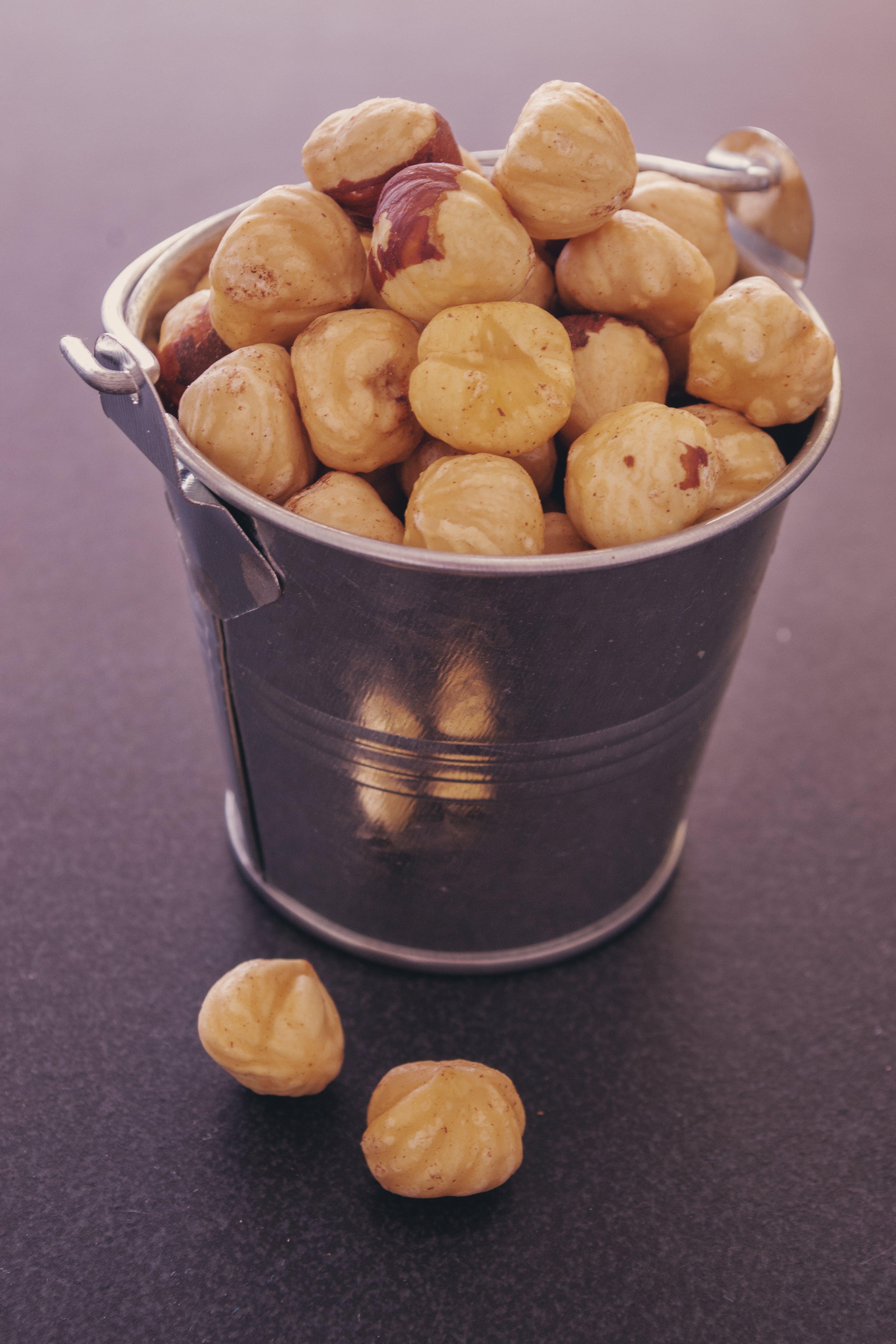 Free stock photo of food, dry, hazelnuts, food photography