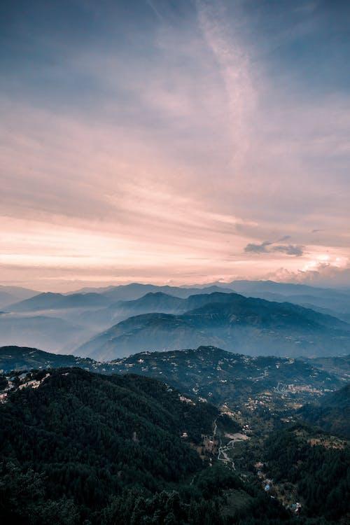 Photos gratuites de dalhousie, inde, montagnes