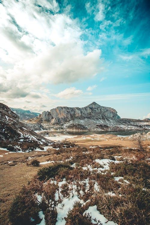 bulutlar, dağ, gün doğumu, jeoloji içeren Ücretsiz stok fotoğraf