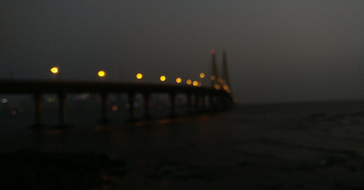 Free stock photo of bandra, bokeh, bridge