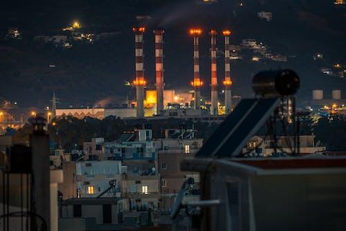 Ảnh lưu trữ miễn phí về ánh sáng ban đêm, đêm thành phố, Khu công nghiệp, tiếp xúc lâu