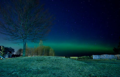 Free stock photo of aurora, aurora borealis, landscape, night sky