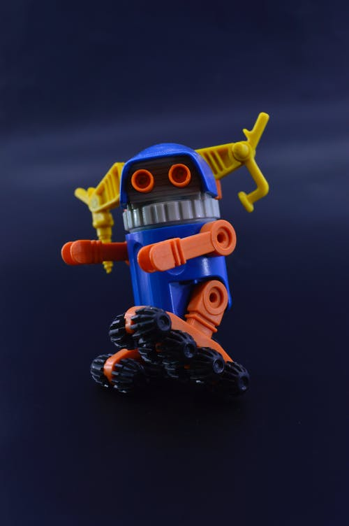 Free stock photo of 80s, plastic toy, robot, toy figure