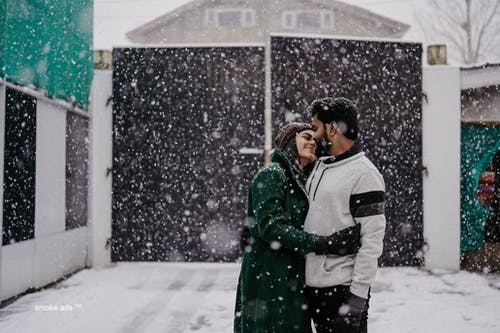 Free stock photo of indian wedding, smoke photography, snowfall