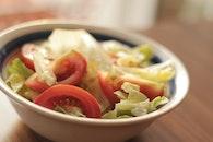 salad, tomatoes