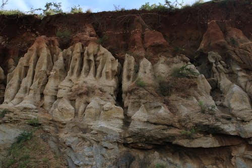 Free stock photo of africa, erosion, Kenya, rock formation