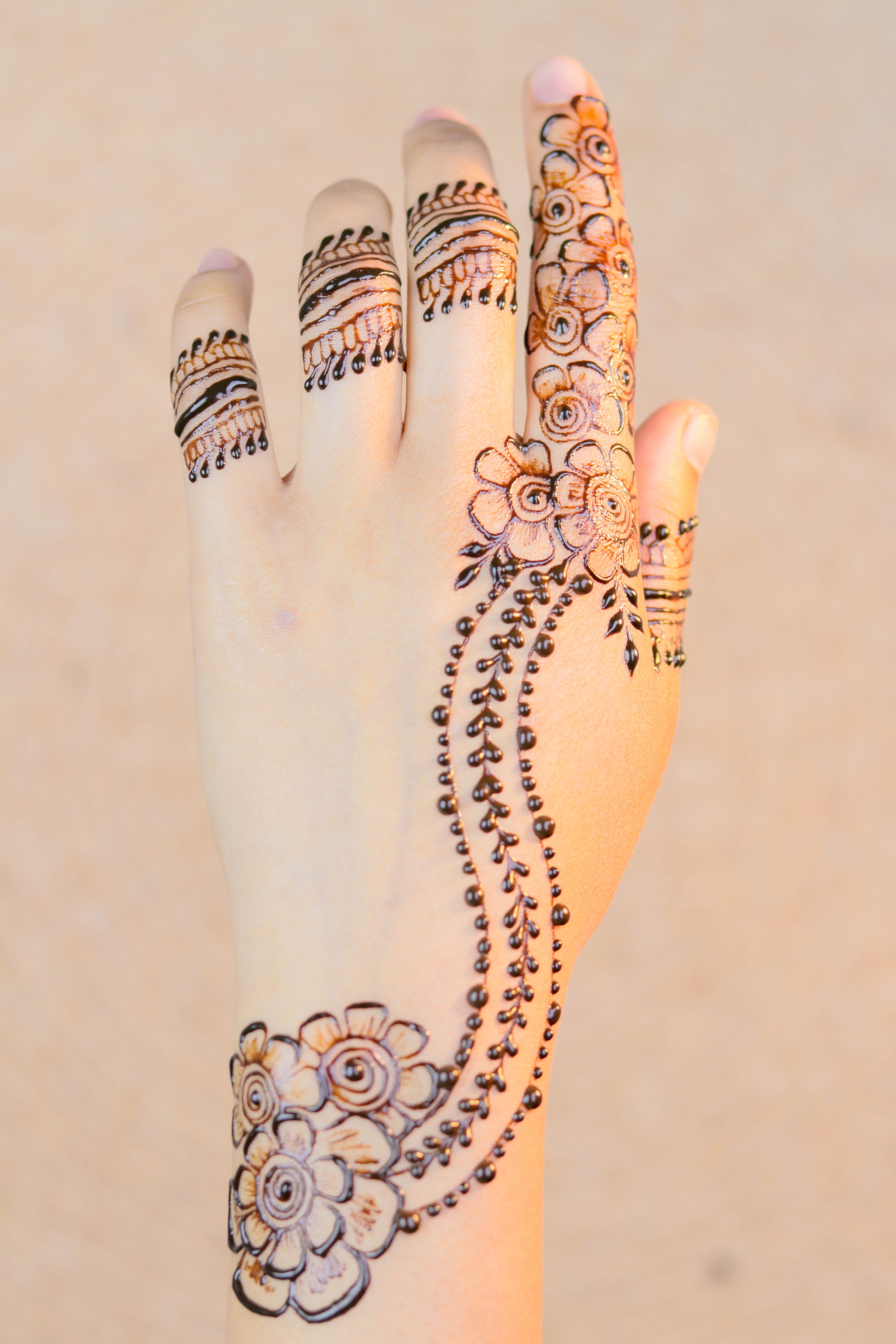 Free Stock Photo Of Arabic Latest Mehndi Design Tutorial Diy Mehndi Designs 2020 How To Apply Henna