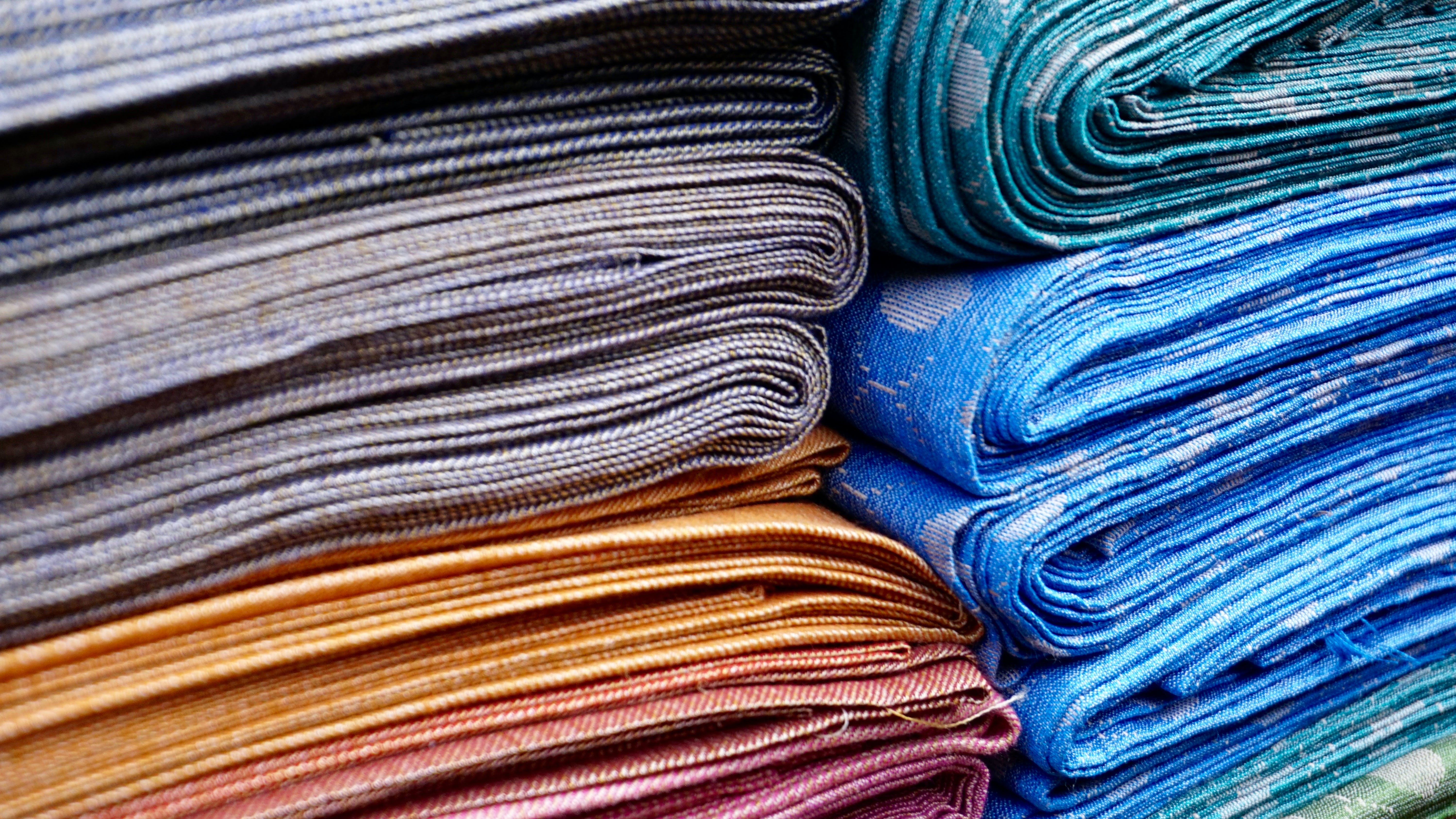 close-up, cloth, colorful