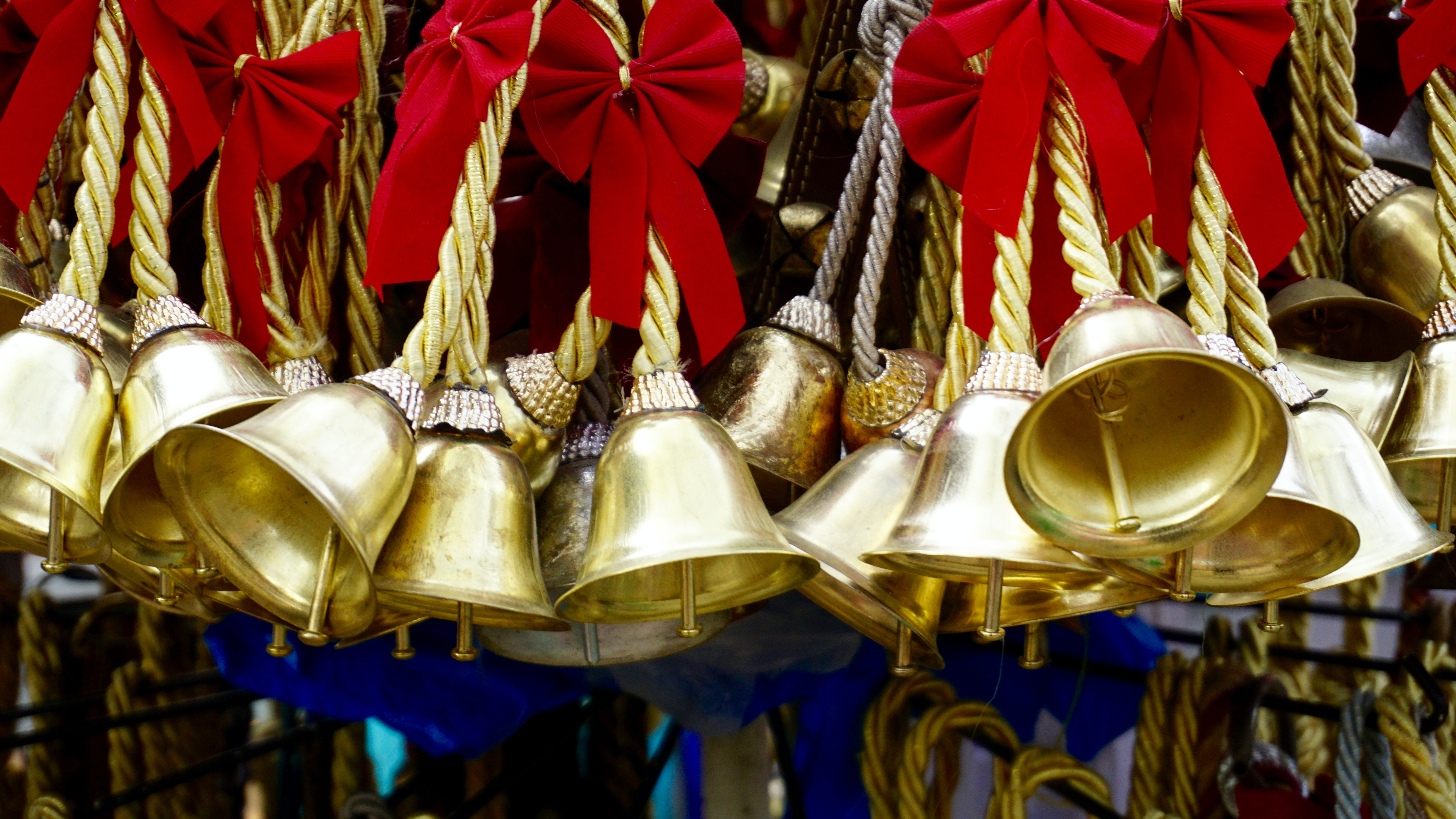 Gold Bell Lot · Free Stock Photo