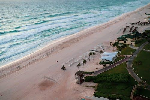 Bird's Eye View Photo of Beach