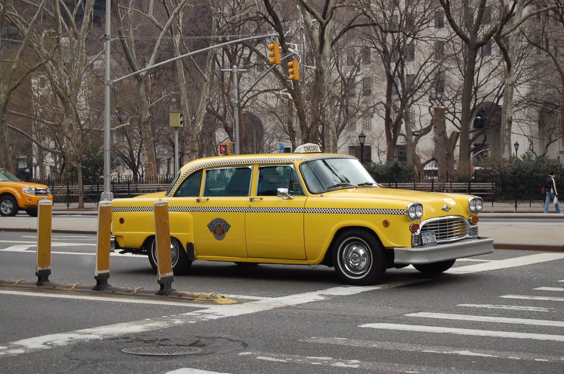 Free stock photo of cab, new york, taxi, yellow cab