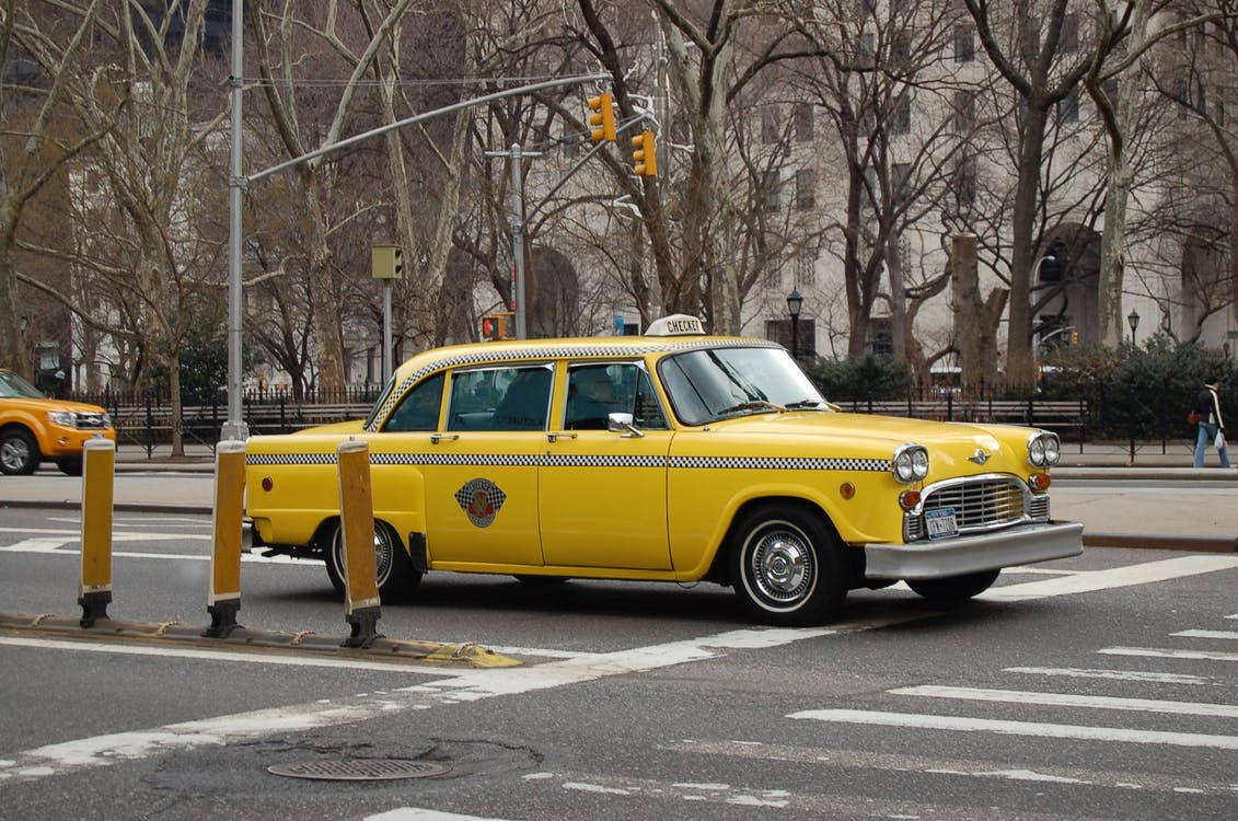 Free stock photo of cab, new york, taxi