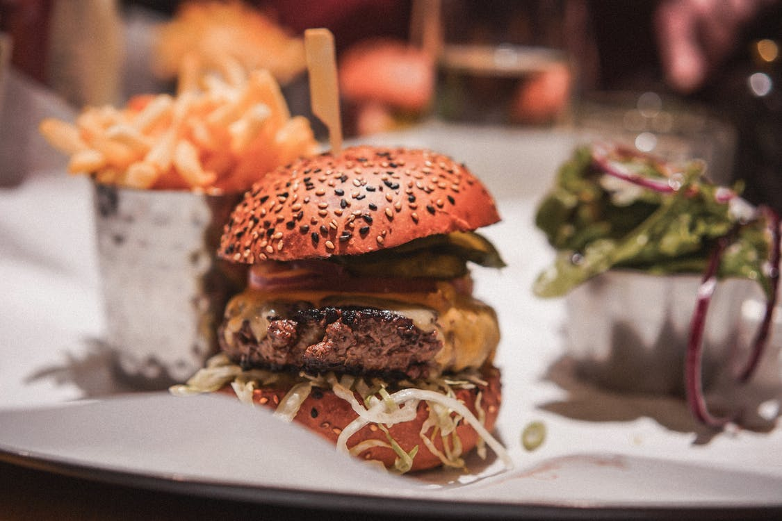 Photo Of A Burger