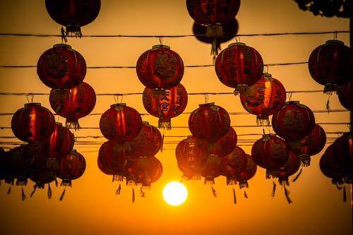 Free stock photo of Chinese, chinese new year, hanging, lamp