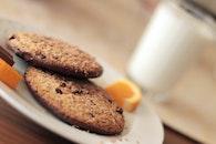 cookies, snack, brownies