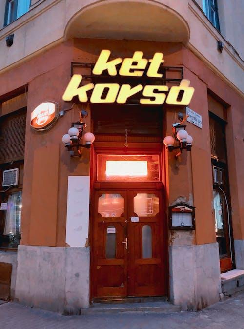 Free stock photo of bar, budapest, city street