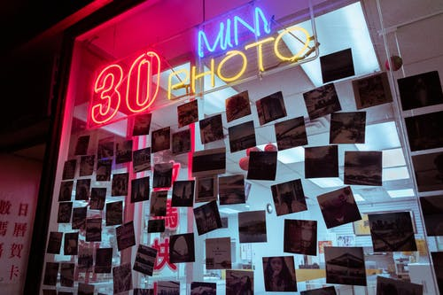Photo Of Neon Signage With Pictures